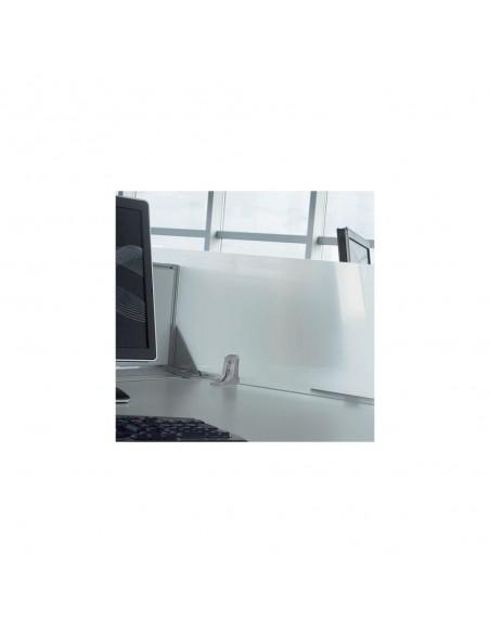 Cloisonnette frontale en méthacrylate pour bureaux Bench