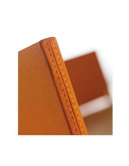 Cloisonnette frontale en tissu pour bureaux Bench